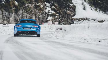 Alpine A110 - rear tracking