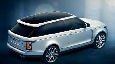 Range Rover Coupe SV - rear quarter