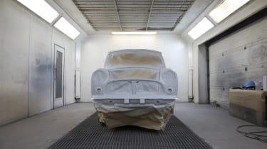 David Brown Automotive Mini Remastered paintshop