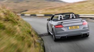 Audi TT RS Roadster – Rear