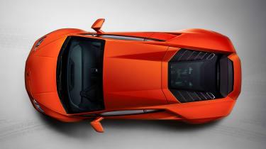 Lamborghini Huracan EVO top