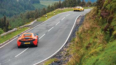Porsche GT3, Ferrari, McLaren group - 650S