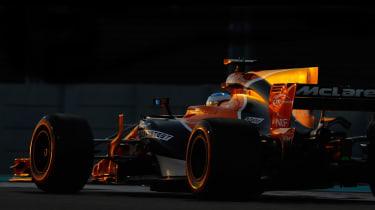 F1 Round 20 - McLaren