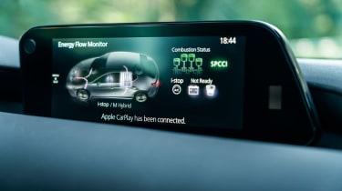 New Mazda 3 Skyactiv-X 2019 review screen