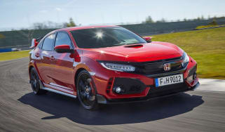 Honda Civic Type R - front tracking