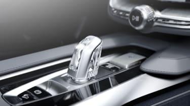 Volvo Coupe Concept gear selector