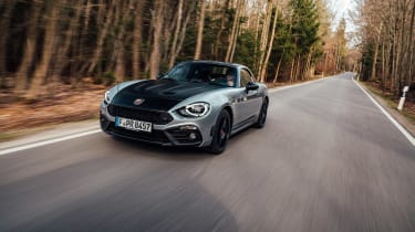 Abarth 124 GT tracking