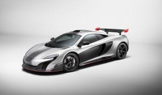 McLaren MSO R coupe - front quarter