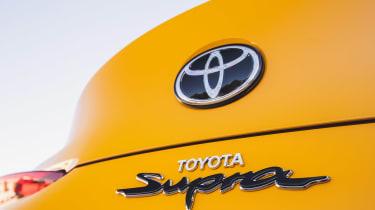 Toyota Supra badge