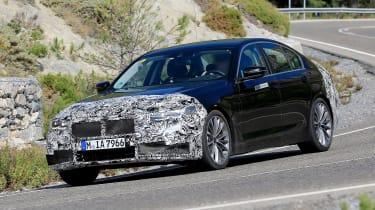 BMW 5-series facelift - quarter