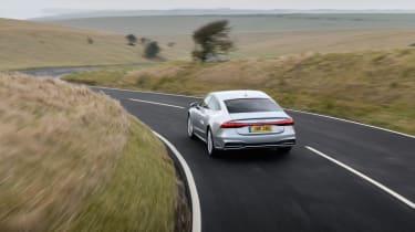 Audi A7 Sportback TDI rear tracking