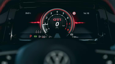 Volkswagen Golf GTI Clubsport 45 – display