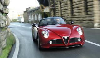 New Alfa Romeo 4C GTA sports car