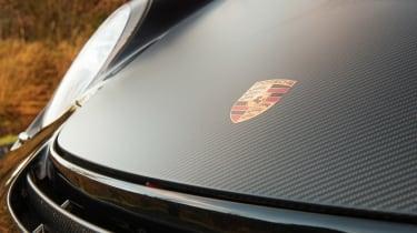 Porsche 911 GT2 RS & Mercedes-Benz SLS AMG Black Series - carbon hood