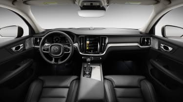Volvo V60 press - dash