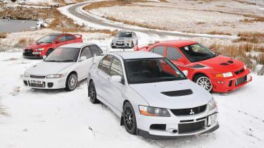 Greatest Mitsubishi Evos review