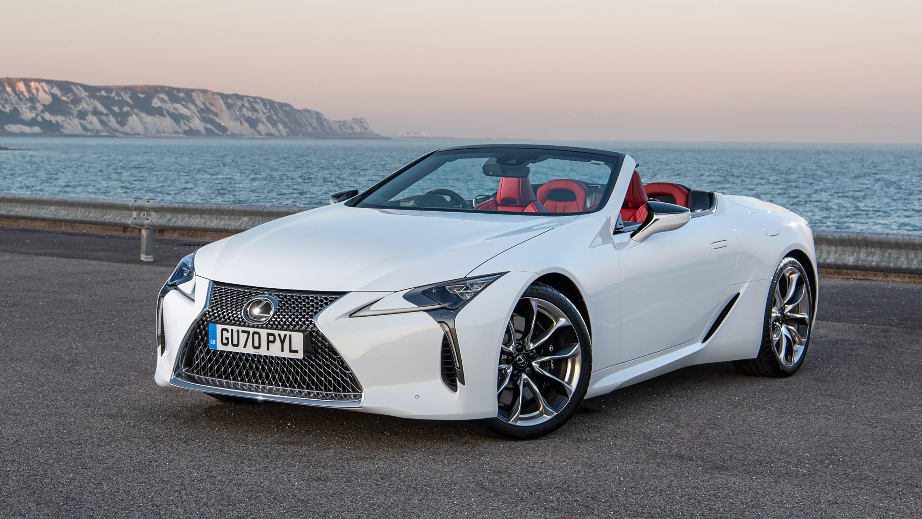 457bhp Lexus Lc500 Convertible On Sale From 90 775 Evo