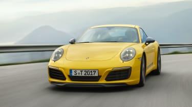 Porsche 911 Carrera T - driving