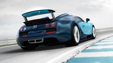 Bugatti to create six new special edition Veyrons