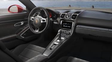 Porsche Cayman GTS interior dashboard