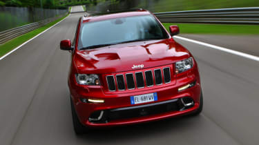 2012 Jeep Grand Cherokee SRT front