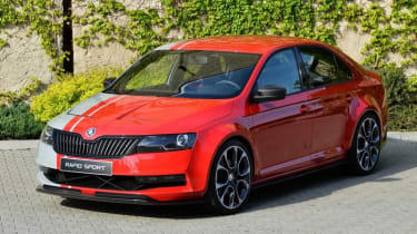 Skoda Rapid Sport concept car