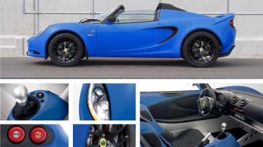 New Lotus Elise S Club Racer blue