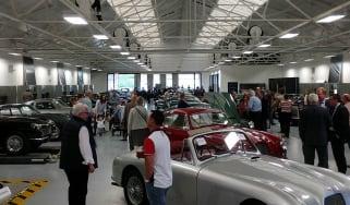 Aston Martin Works auction - showroom