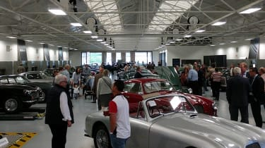 Aston Martin Works auction - showroom