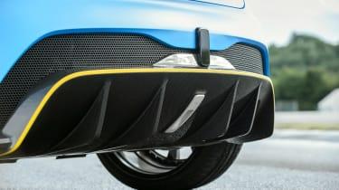 Renault Zoe E-Sport - rear diffuser