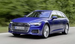 Audi A6 2018 Avant first drive - front
