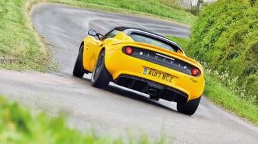 Lotus Elise Sprint 220 - rear quarter