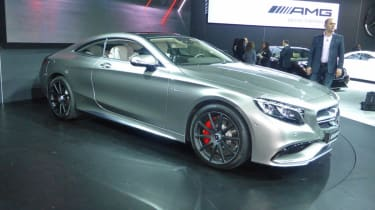 Mercedes S63 AMG Coupe New York auto show