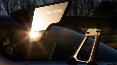 Subaru WRX STI S209 - wing