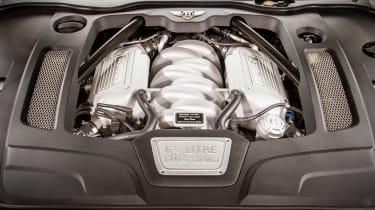 Bentley Mulsanne Speed - engine bay