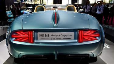 MINI Superleggera Vision concept: Paris motor show 2014