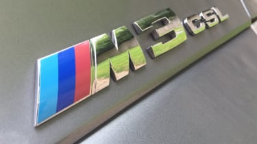 BMW M3 CSL – badge