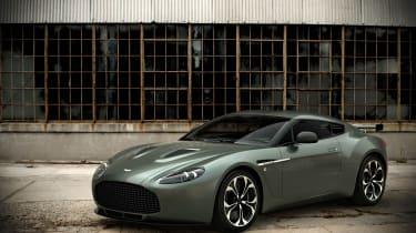 Aston V12 Zagato at Kuwait Concours