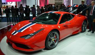 Ferrari 458 Speciale rear at Frankfurt Motor Show