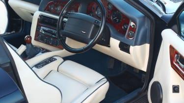 Aston Martin Vantage 600 interior