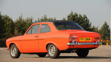 Ford Escort Mexico – rear quarter