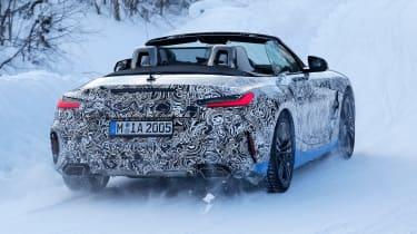 BMW Z4 mule - rear