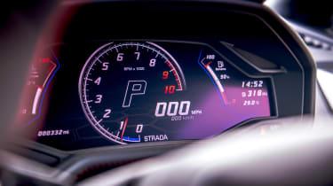 Lamborghini Huracán Evo RWD – dials
