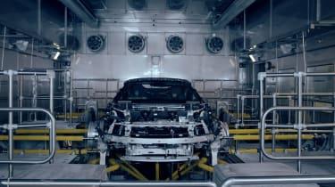 BMW i8 Spyder - factory tease