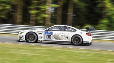 BMW M6 GT3 - profile