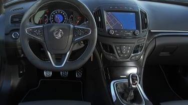 Vauxhall Insignia VXR SuperSport interior dashboard steering wheel