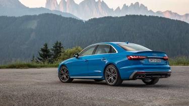 Audi S4 TDI review - rear quarter