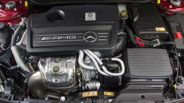 2013 Mercedes CLA45 AMG 2-litre turbo engine