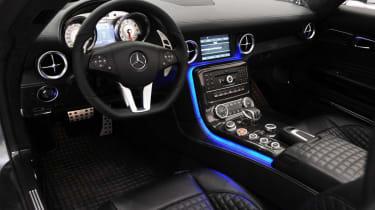 Brabus SLS AMG Roadster dashboard