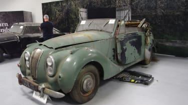 Aston Martin Works auction - Barn Find Lagonda